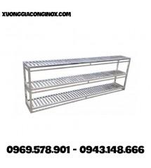 Giá Inox treo tường 3 tầng GI-02