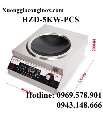 Bếp từ công nghiệp lõm có hẹn giờ 5KW HZD-5KW-PCS