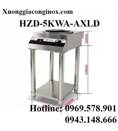 Bếp từ công nghiệp lõm có giá 5KW HZD-5KWA-AXLD