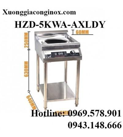 Bếp từ công nghiệp có giá kệ có hẹn giờ 5KW HZD-5KWA-AXLDY
