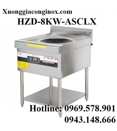 Bếp từ công nghiệp lõm có giá kệ có hẹn giờ 8-12-15KW HZD-8KW-ASCLX