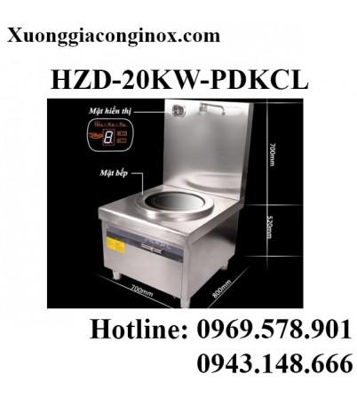 Bếp từ công nghiệp lớn có vòi rửa 8KW-12KW-15KW-20KW HZD-20KW-PDKCL