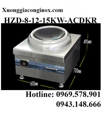 Bếp từ công nghiệp lớn mặt lõm 8-12-15KW HZD-8-12-15KW-ACDKR