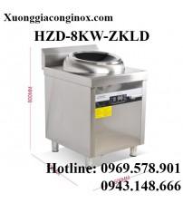 Bếp từ công nghiệp lớn mặt lõm có hẹn giờ 8-12-15KW HZD-8KW-ZKLD