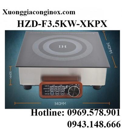 Bếp từ công nghiệp lắp âm vuông 3.5KW HZD-F3.5KW-XKPX