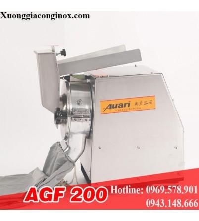 Máy xay thuốc, máy nghiền bột thuốc đông y AGF-200