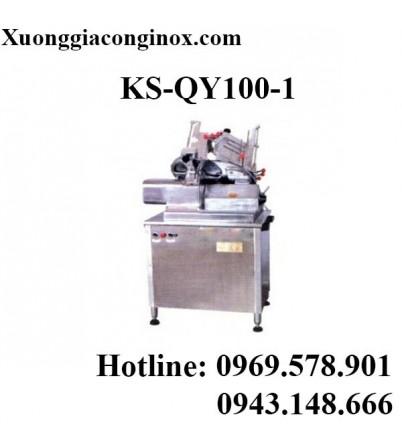 Máy thái thịt 3 đầu cắt KS-QY100-1