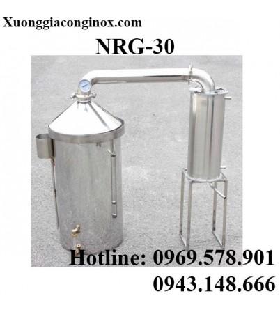 Nồi nấu rượu dùng gas 30 lít NRG-30
