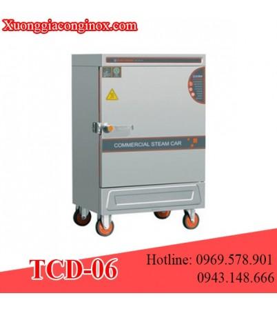 Tủ nấu cơm dùng điện 6 khay TCD-06