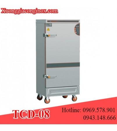 Tủ nấu cơm dùng điện 8 khay TCD-08