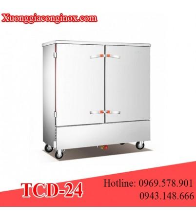 Tủ nấu cơm dùng điện 24 khay TCD-24
