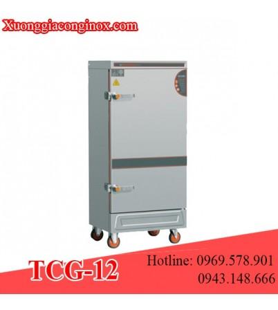 Tủ nấu cơm dùng gas 12 khay TCG-12