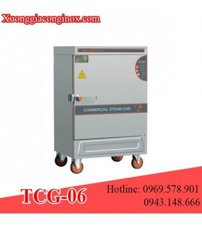 Tủ nấu cơm dùng gas 6 khay TCG-06