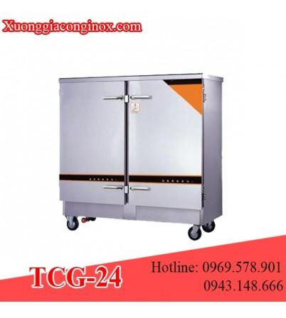 Tủ nấu cơm dùng gas 24 khay TCG-24